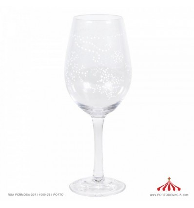 A Claus For Celebration Glass
