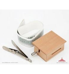 Realejo de fita para personalizar madeira 3 peças DIY