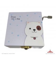 Caixa musical animal