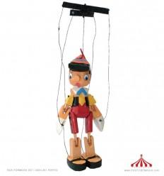 Marioneta Pinóquio 40 cm