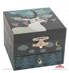 Dear in the forest - Jewelry Box Rect