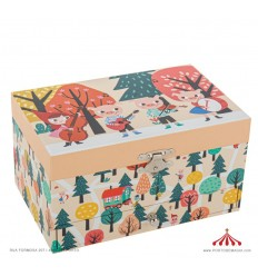 Musical Jewelry Box Red Ridding Hood