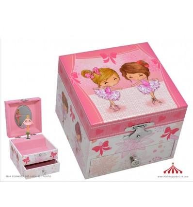Music box ballerinas