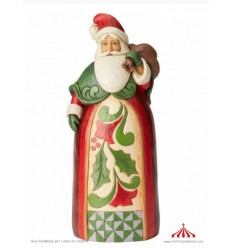 Santa with Bag Statue (big)