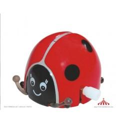 LADYBUGS (Set of 24) - Wind Up Mechanical Toy - My Small Gift