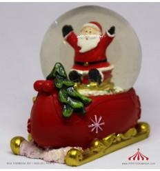 Bola de Neve - Resina Natal