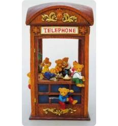 Cabine telefônica em Polystone