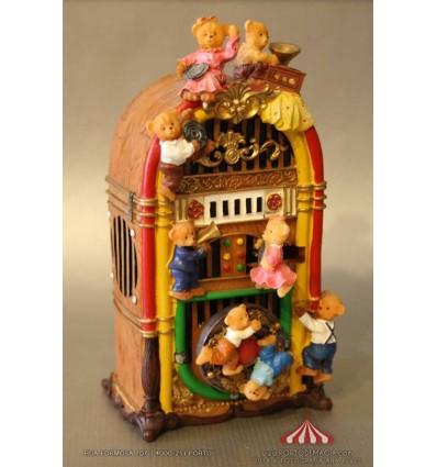 Jukebox com Ursinhos
