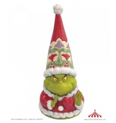 Grinch Heart Gnome