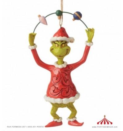 Grinch Juggling Ornamento