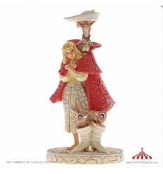 Playful Pantomime (Aurora as Briar Rose Figurine)