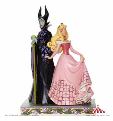 Sorcery and Serenity - Aurora and Maleficent Figurine - Disney