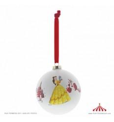 Be Our Guest Bela e Monstro Bola de Natal