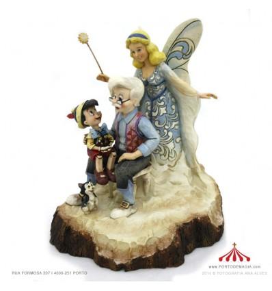 Pinóquio, Geppetto e Fada Azul