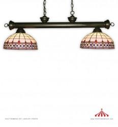 Tiffany Focos BL / CEN - 30 - Candeeiro de tecto