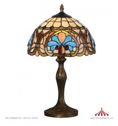 Tiffany Catedral - Candeeiro de mesa