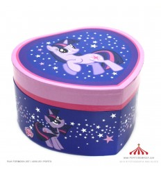 Guarda-Joias Little Pony Lilas