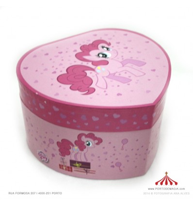 Guarda Joias Little Pony Rosa