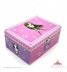 Caixa de Música - Grande Littlest Pet Shop