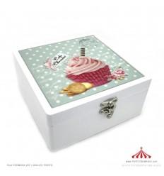 Caixa com Cupcake