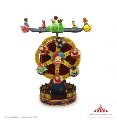 Roda Gigante com palhaços