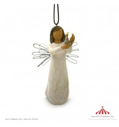 Angel of Hope Ornament - Willow Tree