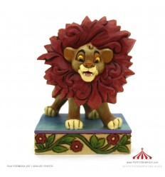 Just Can't Wait To Be King (Simba Figurine) - Disney