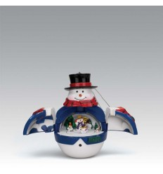 Decorações para árvore Natalicia Homem de neve