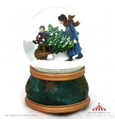 Bola de Neve Pai com filho