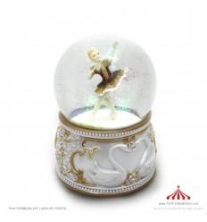 Bola de Neve com fada bailarina