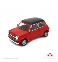 Mini Cooper 1300 vermelho