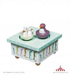 Caixa Dançante Pinguim