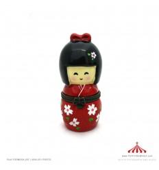 Caixa japonesa vermelha