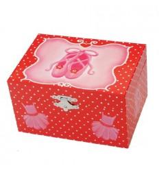 Caixa Sabrinas Ballet vermelha