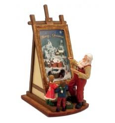 Pai Natal Pintor pequeno