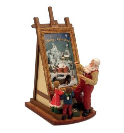 Pai Natal Pintor Grande