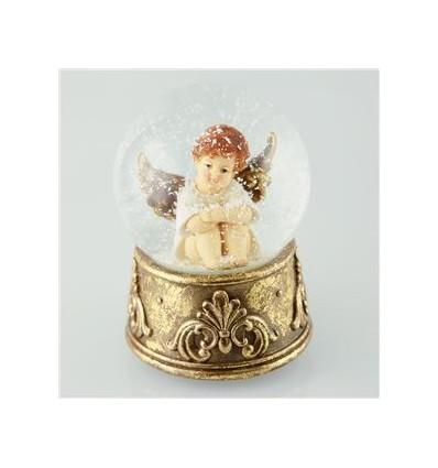 Globo anjo sentado