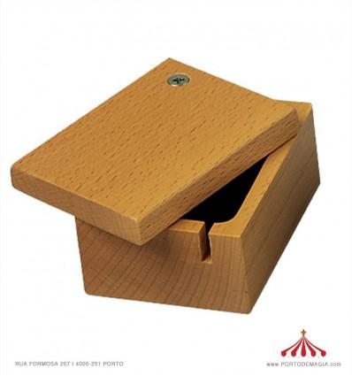 Caixa de madeira para realejo