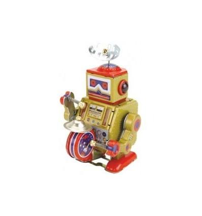 Robot com tambor