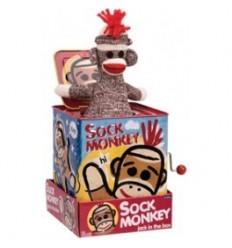 Jack in the Box - Sock Monkey