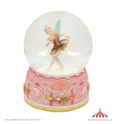Bola de neve Fada Bailarina