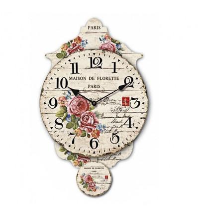 Relógio com borboleta