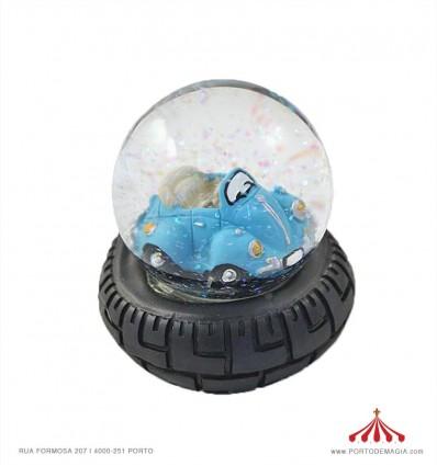 Bola de Neve VW Carocha turquesa