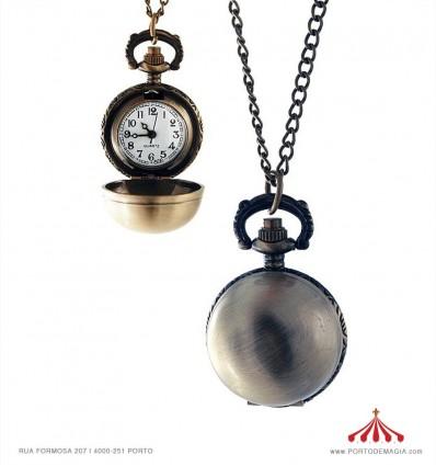 Colar relógio esfera