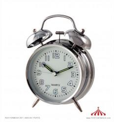 Despertador Metalizado