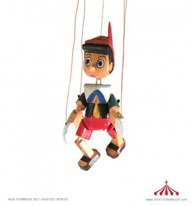 Marioneta pinoquio pequeno
