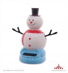 Boneco de Neve Solar