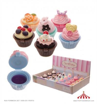 Brilho lábios cupcake