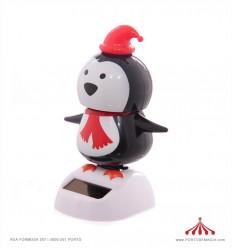 Boneco Pinguim Solar