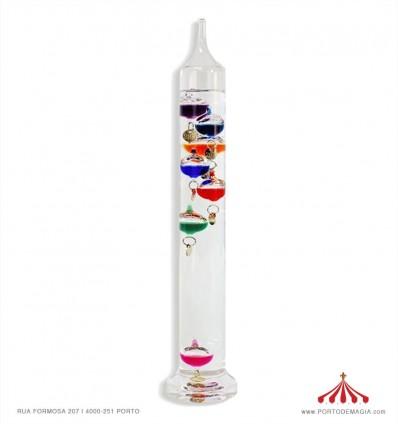 Termómetro Cristal Galileu